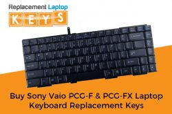 Buy Sony Vaio PCG-F & PCG-FX Laptop Keyboard Replacement Keys