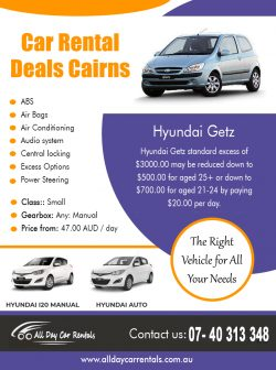 Car Rental Deals Cairns