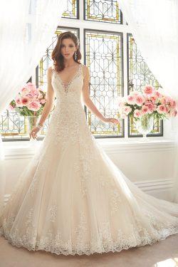 2018 correas de sirena de tul vestidos de novia con apliques y perlas barrer el tren US$ 319.99  ...
