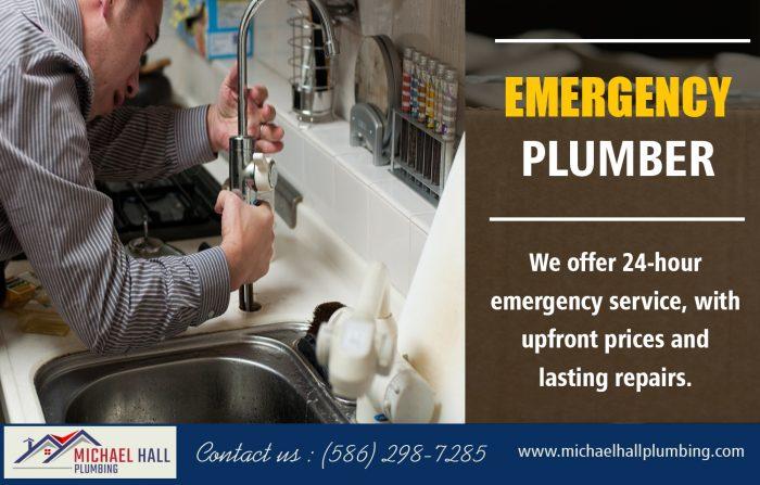 Emergency Plumber | Call – 586-298-7285 | michaelhallplumbing.com