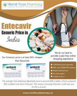 Entecavir Generic Price in India