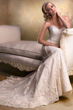 2018 envoltura del amor / vestidos de novia columna con apliques de tul US$ 319.99 VTOPENS9YAT & ...