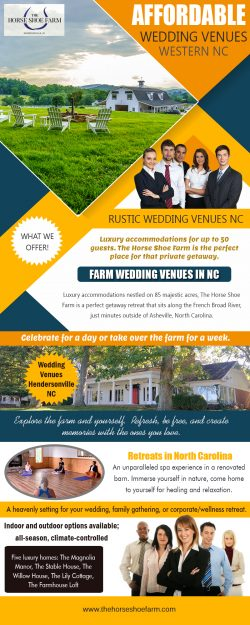 Farm Wedding Venues In NC | Call – 828-393-3034 | thehorseshoefarm.com