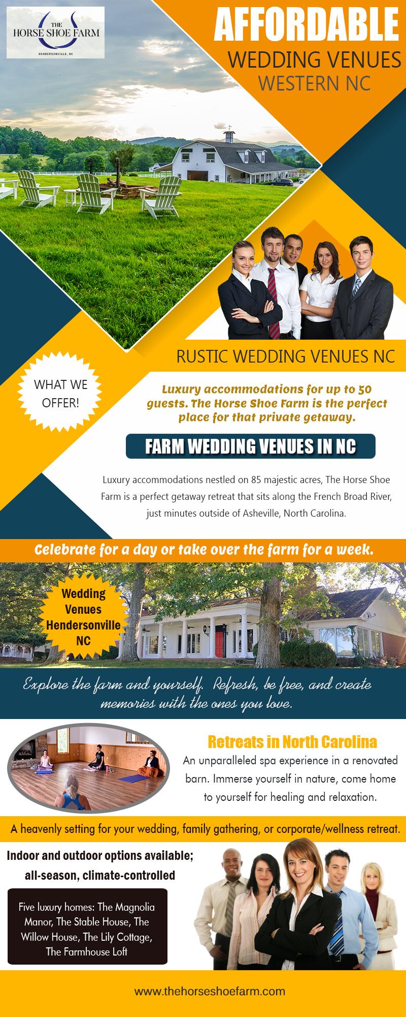 Farm Wedding Venues In NC | Call – 828-393-3034 | thehorseshoefarm.com