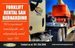 Forklift Rental in San Bernardino