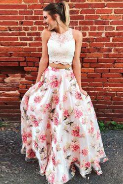 Hermosos 2 piezas de una línea de vestidos de fiesta US$ 185.99 VTOPEEXYL68 – VestidoBello.com