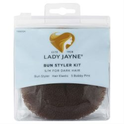Lady Jayne 15002DK Bun Styler Dark Small Medium