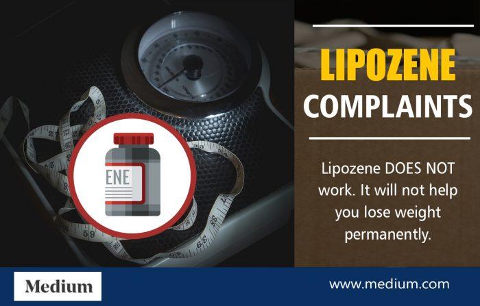 Lipozene Complaints