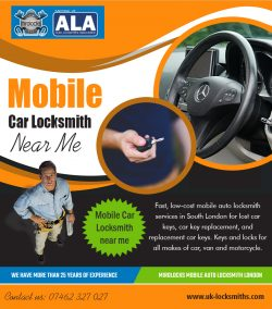 Mobile Car Locksmith near me | Call – 07462 327 027 | uk-locksmiths.com