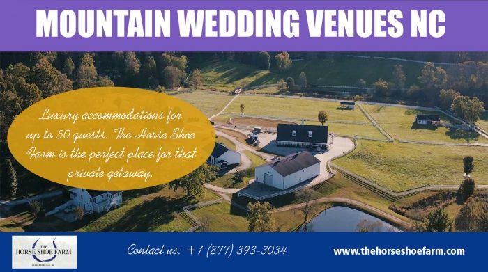 Mountain Wedding Venues NC | Call – 828-393-3034 | thehorseshoefarm.com
