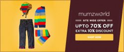 Mumzworld exclusive sale – Get Upto 70% OFF + Extra 10% OFF available on Orders