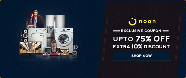 Noon Special Discount Sale of Season – Get 75% OFF + Extra 10% OFF on Shopping