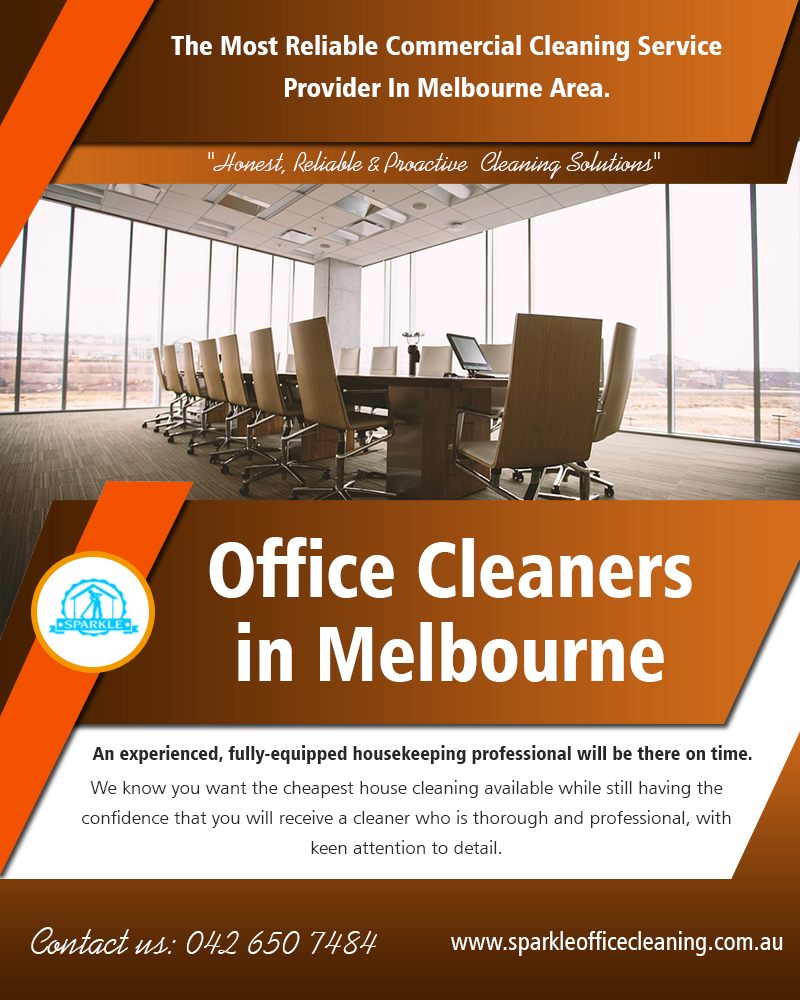 Office cleaners in melbourne