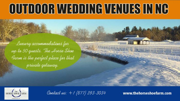 Outdoor Wedding Venues in NC | Call – 828-393-3034 | thehorseshoefarm.com