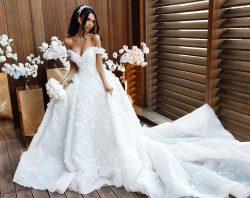 Luxury Brautkleider A Linie Hochzeitskleider Spitze Günstig Online
