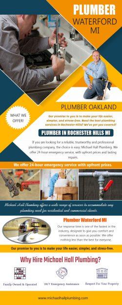 Plumber in Rochester Hills MI | Call – 586-298-7285 | michaelhallplumbing.com