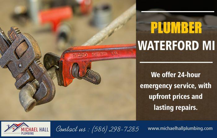 Plumber Waterford MI | Call – 586-298-7285 | michaelhallplumbing.com