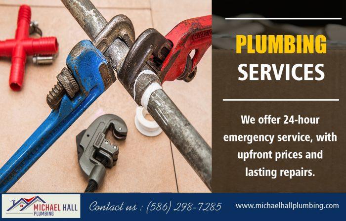 Plumbing Services | Call – 586-298-7285 | michaelhallplumbing.com