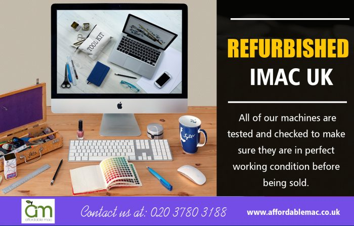 Refurbished iMac UK