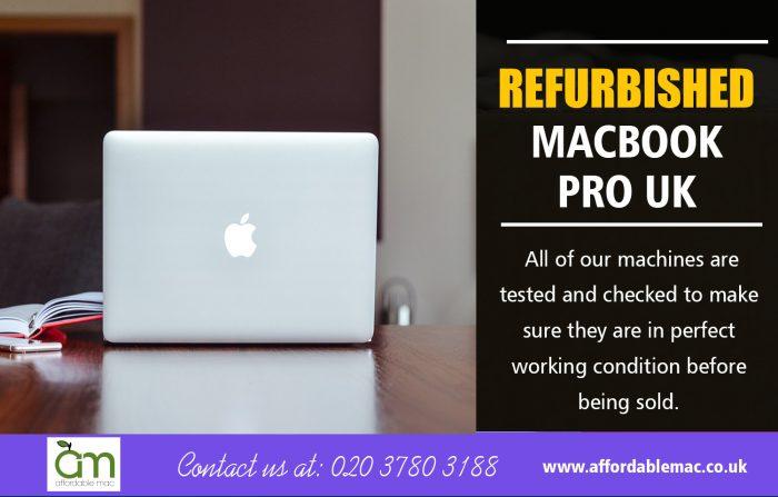 Refurbished macbook pro UK