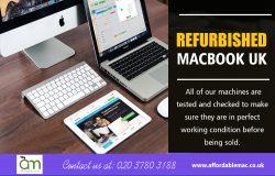 Refurbished macbook UK