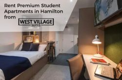 Rent Premium Student Apartments in Hamilton from West Village Suites