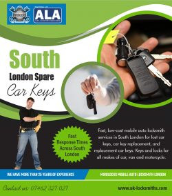 South London Spare Car Keys | Call – 07462 327 027 | uk-locksmiths.com