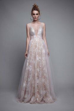 2018 Tulle & Lace Prom Dresses Straps una línea de longitud del piso US$ 239.99 VEP7T12FFE & ...