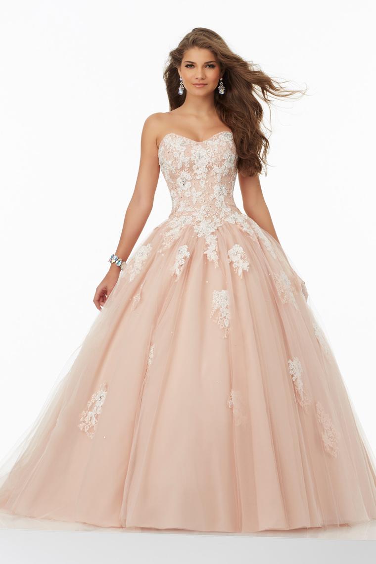 2019 vestido de bola del amor Vestidos de quinceañera con apliques de encaje hasta US$ 209.99 VT ...