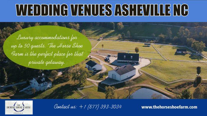 Wedding Venues Asheville NC | Call – 828-393-3034 | thehorseshoefarm.com