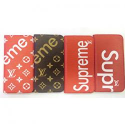 シュプリーム ヴィトン iphone8ケース iphoneXR ブランドケース マグネット SUPREME LV