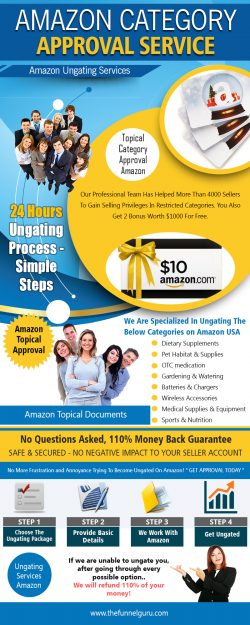Amazon Category Approval Service