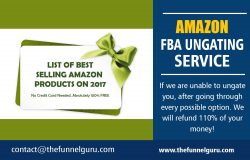 Amazon FBA Ungating Service