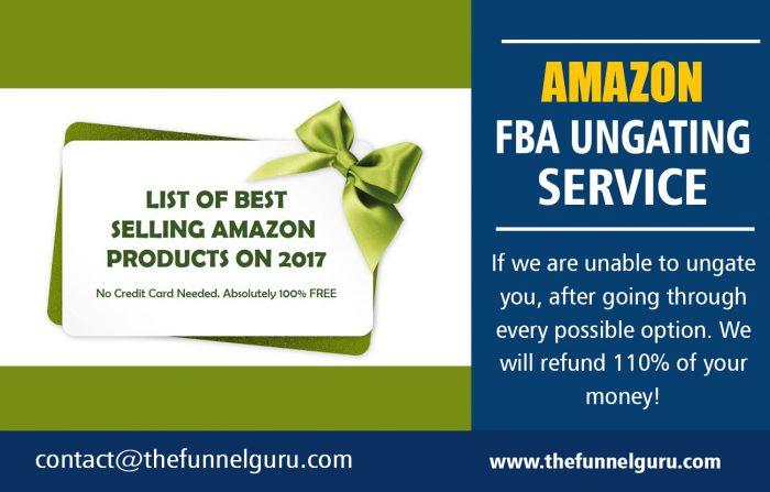 Amazon FBA Ungating Service   thefunnelguru.com