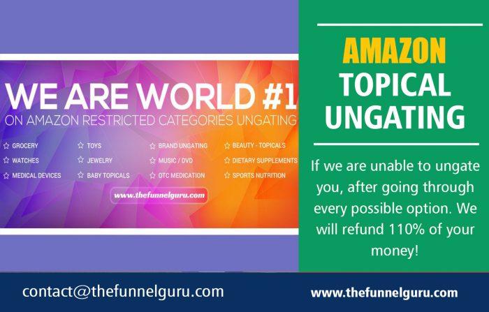 Amazon Topical Ungating