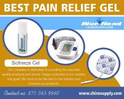 Best Pain Relief Gel | 8775639660 | chirosupply.com