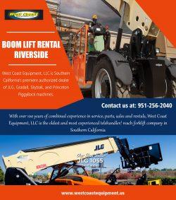 Boom Lift Rental Riverside||westcoastequipment.us||1-9512562040