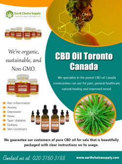 CBD Oil Toronto Canada