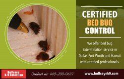 Certified Bed Bug Control | 4692000637 | bullseyek9.com