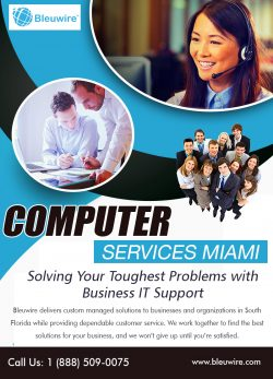 Computer Services Miami | Call: 1-888-509-0075 | bleuwire.com
