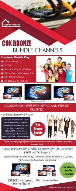 Cox Bronze Bundle Channels | 8554858733 | connectnsave.com