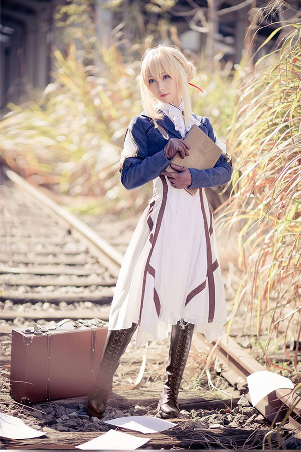Beautiful dress Violet · Evergarden cosplay costume