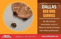 Dallas Bed Bug Service | 4692000637 | bullseyek9.com