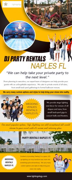 DJ Party Rentals in Naples FL