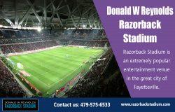 Donald W Reynolds Razorback Stadium Events