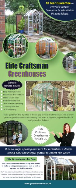 Elite Craftsman Greenhouses