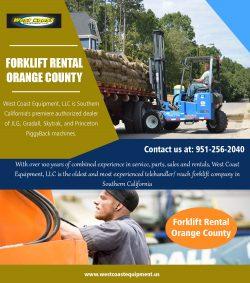 Forklift Rental Orange County||westcoastequipment.us||1-9512562040