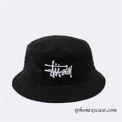 Stussy (ステューシー) バケットハット 帽子 サファリハット コットン メンズ レディース 全3色 ブラッ ...