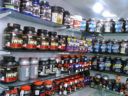 Whey Protein Supplements Store