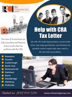 Help with CRA Tax Letter